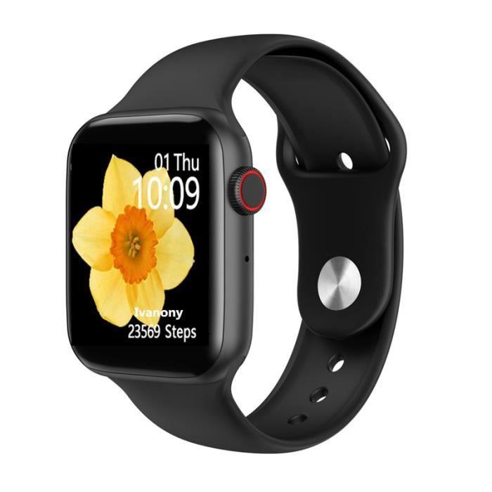 Bluetooth appel smartwatch IWO ECG moniteur de fréquence cardiaque suivi d'activité VS IWO 8 IWO 12 B57 - Type D-with gift box