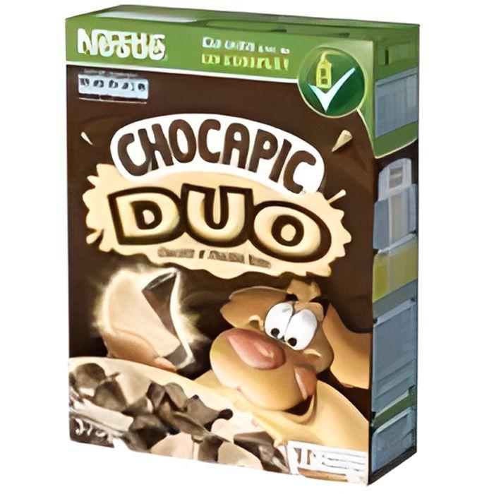 Céréales Duo chocolat et chocolat blanc