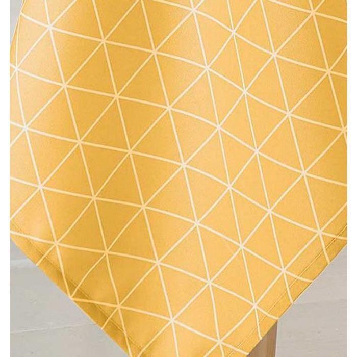 Nappe Ovale Scandinave Maïs 180 x 240 cm