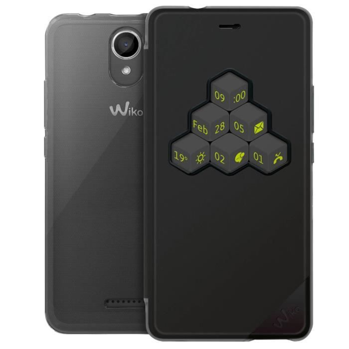 Wiko Smart Folio WiCUBE Noir Harry