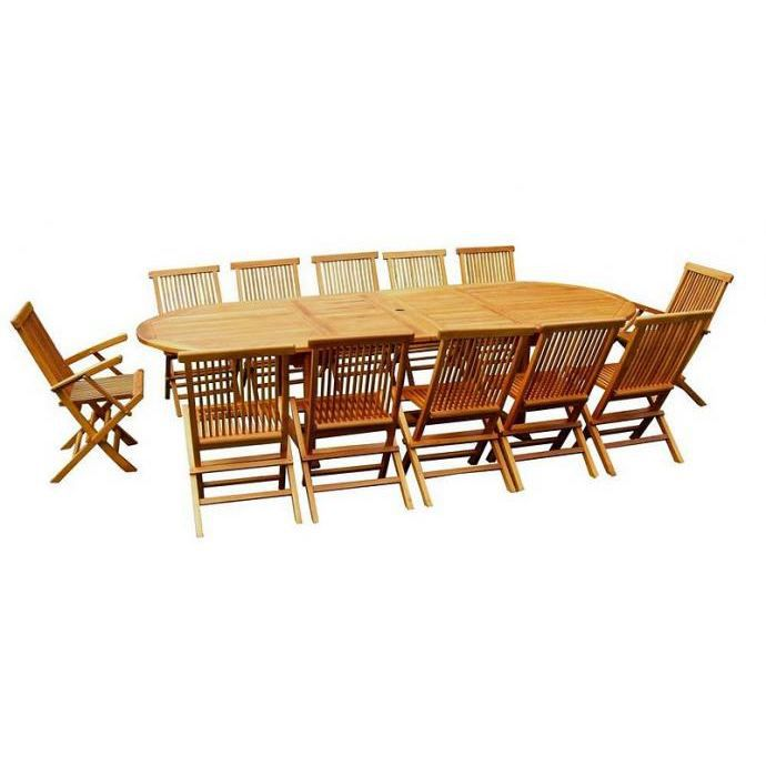 table de jardin 14 personnes achat vente table de jardin 14 personnes pas cher les soldes. Black Bedroom Furniture Sets. Home Design Ideas