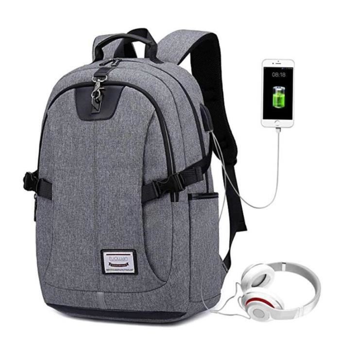 Backpack UsbOrdinateur Business A Sac Loisirsaffairescolair OxfordFonctionnel Laptop Pc Antivol Dos Portable Hommesfemmes XZuTOkiP