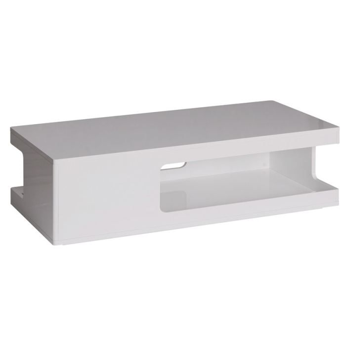 Table basse blanc laqu rectangulaire images - Table basse blanc laque ...
