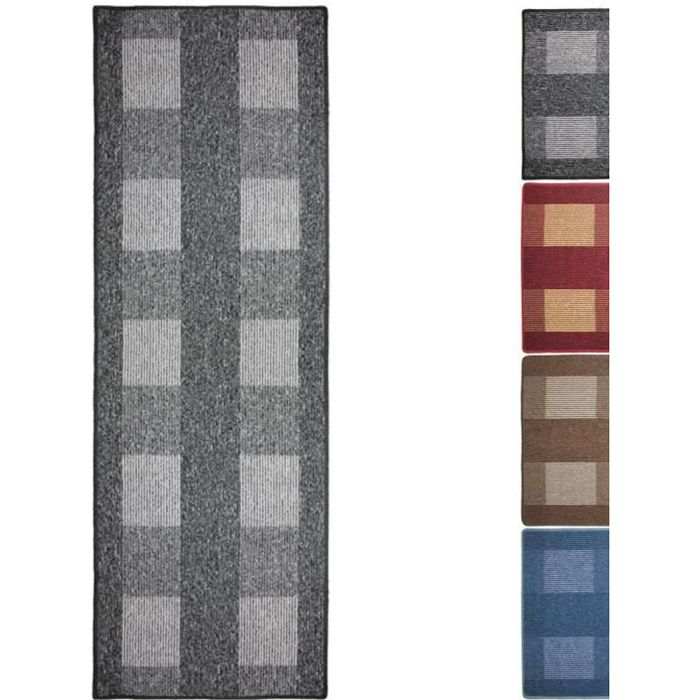 tapis de couloir 200 achat vente tapis de couloir 200 pas cher cdiscount. Black Bedroom Furniture Sets. Home Design Ideas