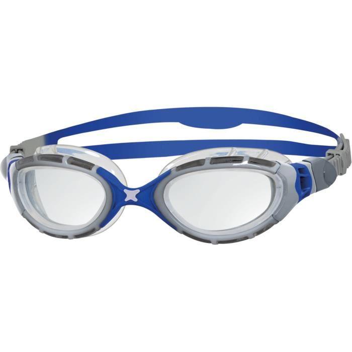 Taille Unique Zoggs Aqua Flex Lunettes de Natation Adulte Unisexe Bleu//Rose//Clair