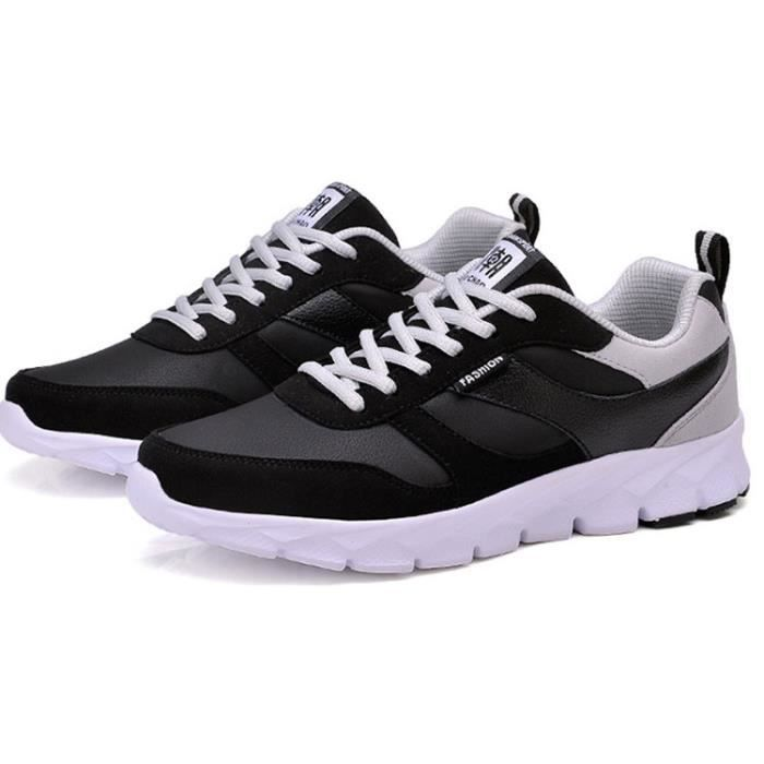 Chaussure homme sneakers chaussure homme sport noir