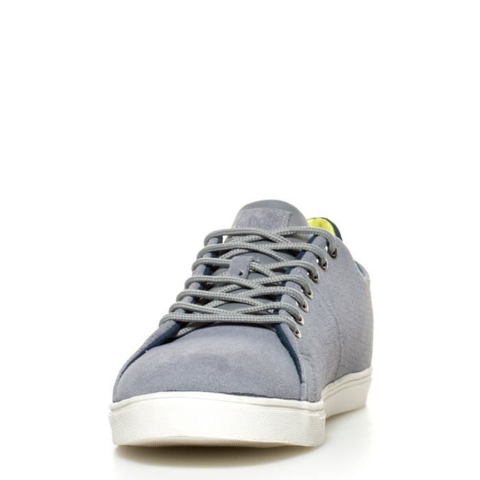 Much More - Bliss chaussures en cuir gris OdpX5B