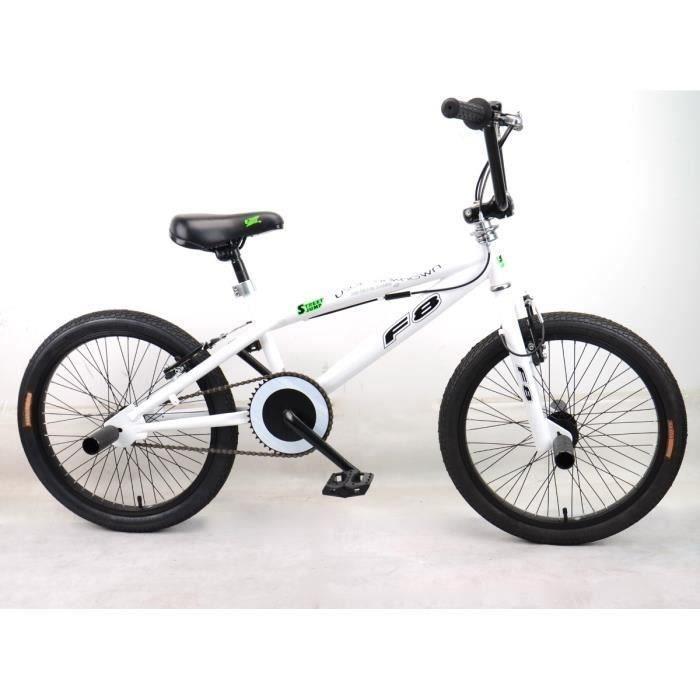 MERCIER Vélo BMX Freestyle 20- 4 Pegs - Blanc