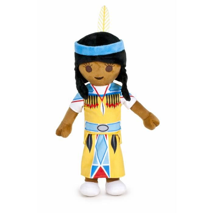 FAMOSA - Indienne - Peluche PLAYMOBIL 40cm