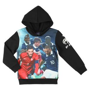 FFF Sweat Football TRG Equipe de France TRG Enfant Garçon FTL