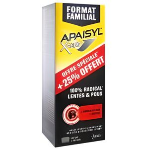 ANTI-POUX Apaisyl Xpert 100% Radical Lentes et Poux 250 ml