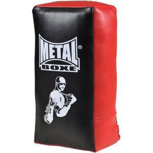 Sac De Frappe Boxe 35 * 19 * 8,5 cm 1pc Pao Boxe Formation de Combat de Muay Thai Taekwondo Sanda YOUSHANG Bouclier De Frappe Noire Rouge