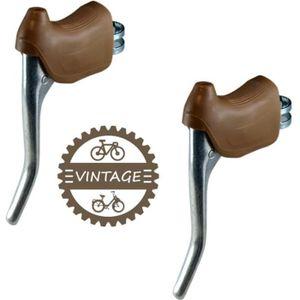 2 cocottes repose main noir pour frein vélo vintage course Mafac  Campagnolo