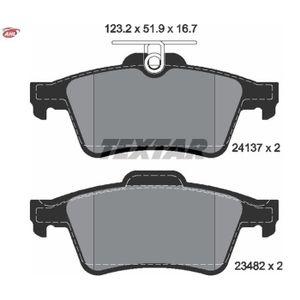 4 textar plaquettes de frein arrière renault twingo cn0 1,2 1,5 DCI
