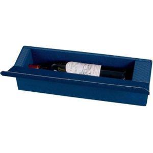 COFFRET CADEAU VIN Coffret cadeau pour 1 bouteille de vin, bleu
