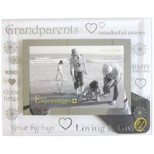 CADRE PHOTO Sixtrees 3-282-64 Moments Family Grandparents Cadr