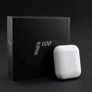 CASQUE - ÉCOUTEURS i100 TWS 1: 1 Bluetooth 5.0 Écouteurs sans fil Cas