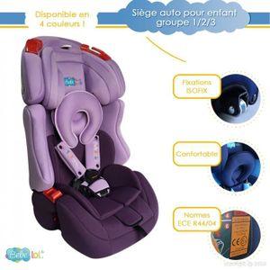 SIÈGE AUTO Siège auto évolutif Bébélol® pour enfant groupe 1+
