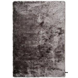 COUVERTURE - PLAID Tapis shaggy à poils longs Whisper Gris 240x340 cm