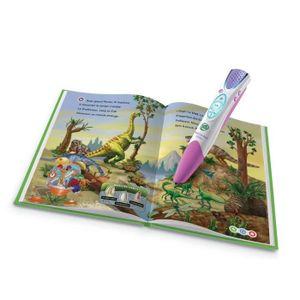 LIVRE INTERACTIF ENFANT LEAPFROG Mon Lecteur Leap Rose + livre + batterie