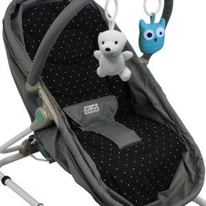 TRANSAT Coussin de confort pour transat et couffin bébé pl