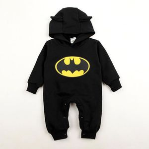 COMBINAISON Bébé garçon barboteuses Batman Toddler Hoodies nou