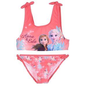 La Reine des Neiges Frozen Bikini pour fille Anna et ELSA