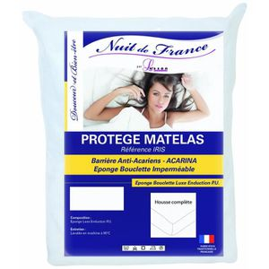 MATELAS Nuit De France 329362 90-190 Protège Matelas Polyu