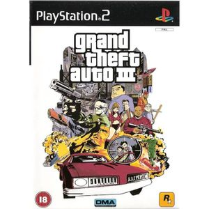 JEU PS2 Grand Theft Auto III (UK Import)