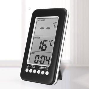 THERMOMÈTRE - BAROMÈTRE TEMPSA Thermomètre Réfrigérateur Sans Fil Horloge
