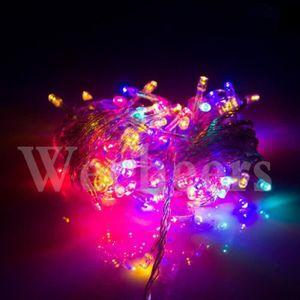 GUIRLANDE LUMINEUSE INT Guirlandes Lumineuses Déco 10 M 100 LED Ampoules M