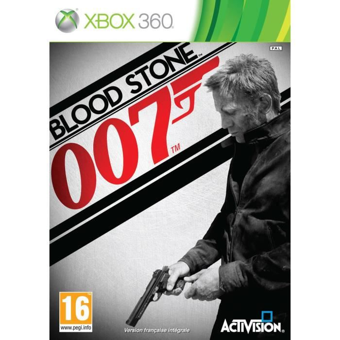 JEUX XBOX JAMES BOND BLOOD STONE / Jeu console X360