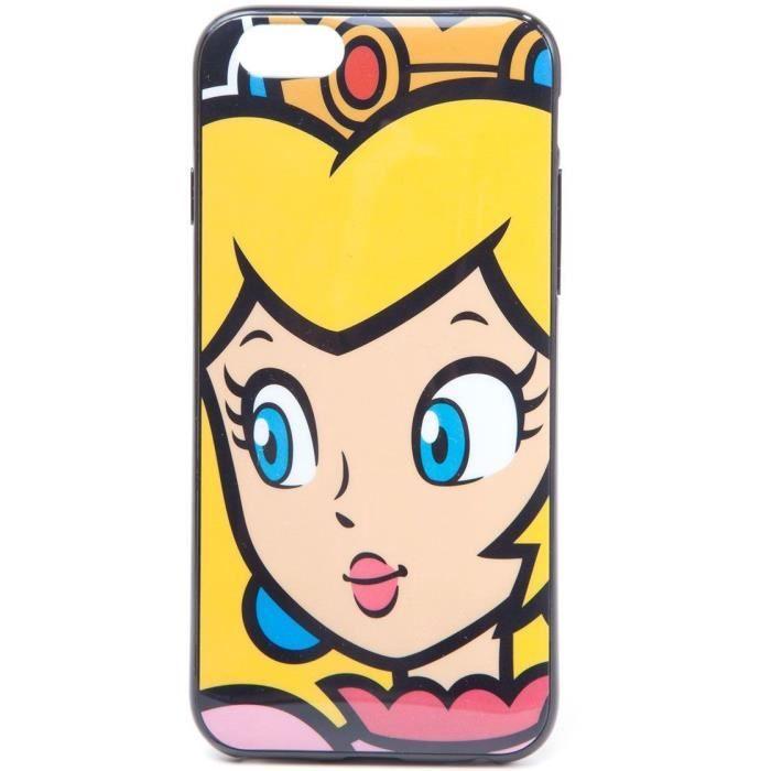 Coque Princesse Peach pour Iphone 6