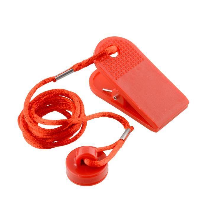 Serrure magnétique de commutateur de sécurité de tapis roulant de clé sûre de sécurité de machine de course de sports