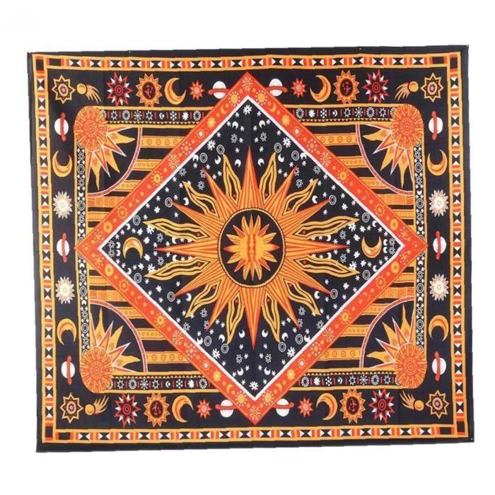YepYes Tapisserie murale couverture suspendue tapis mural Art décoratif artisanat pour chambre literie méditation Yoga voyage