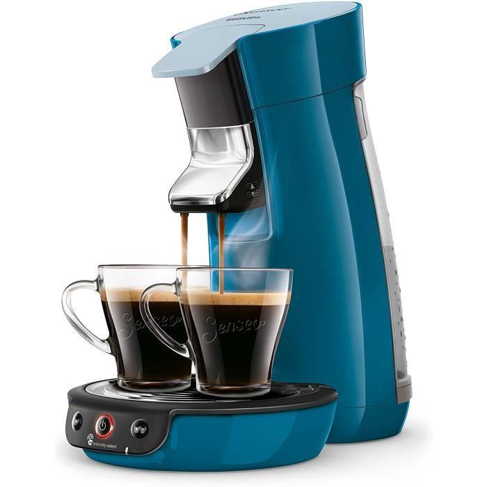 MACHINE A CREME ps HD656371 Machine agrave Cafeacute agrave Dosettes SENSEO Viva Cafeacute Bleu Canard279