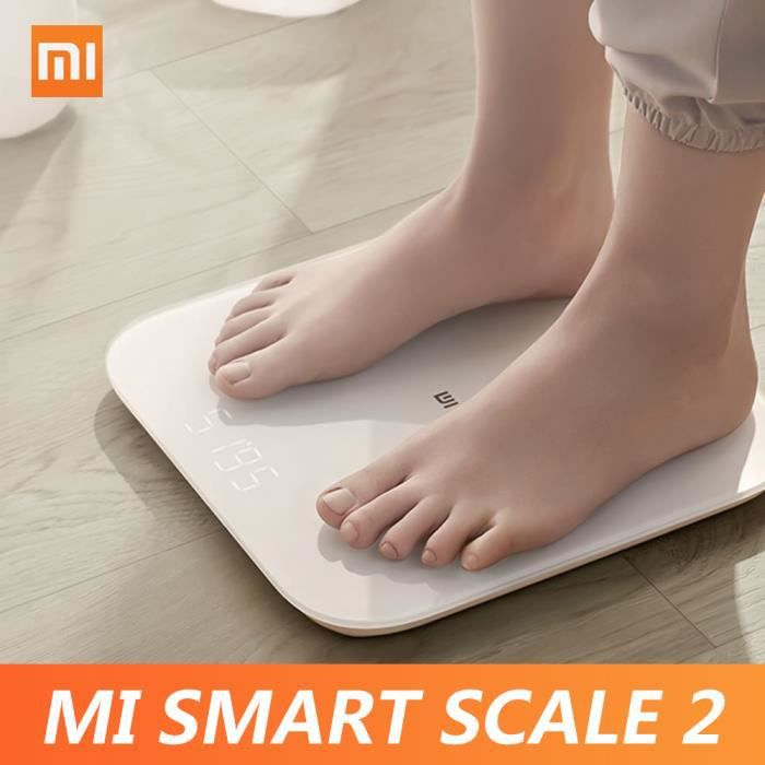 Xiaomi Mi Smart Scale 2 BT 5.0 Body Balance Test Body Composition Scale APP Monitor Hidden LED Display Digital Fitness Scale
