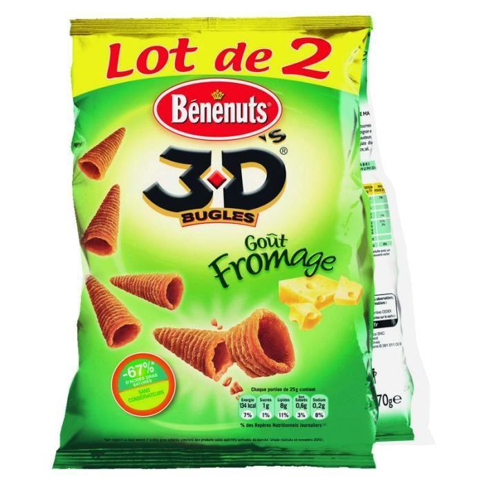 BENENUTS 3D'S Goût Fromage