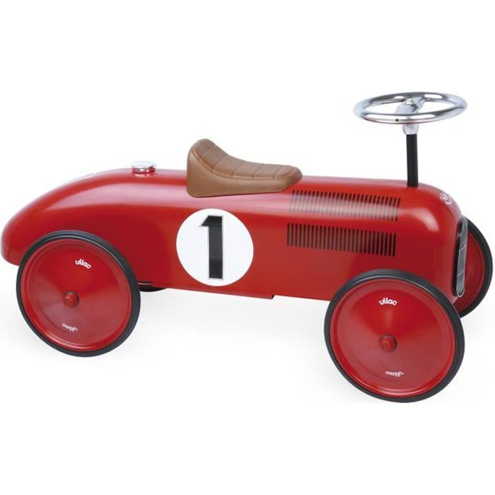 VILAC - Porteur voiture vintage rouge