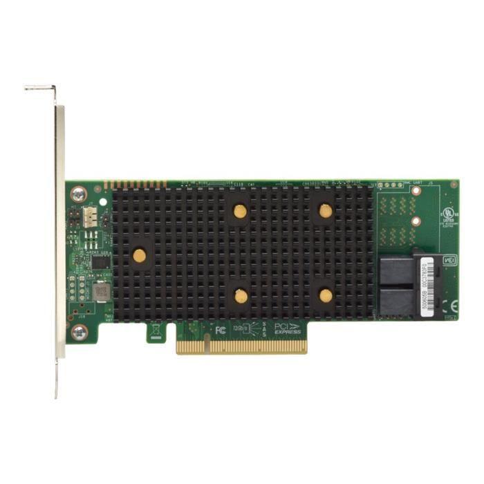LENOVO Contrôleur de stockage ThinkSystem 430-8i - 8 Canal - SATA / SAS 12Gb/s - 12 Gbit / s - PCIe 3.0 x8