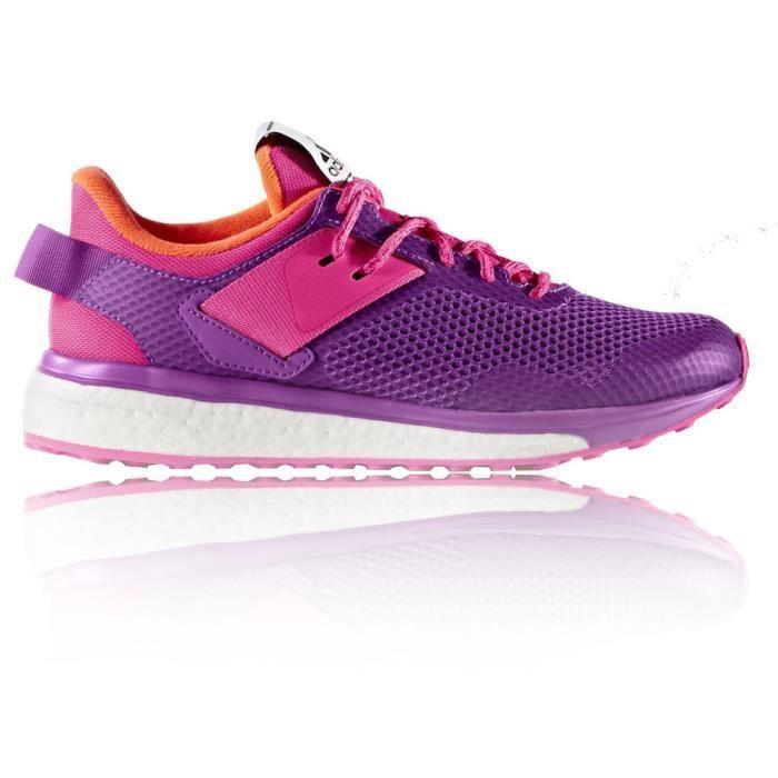 Adidas Response 3 Baskets Chaussures De Course Running Orange Rose Violet Femme