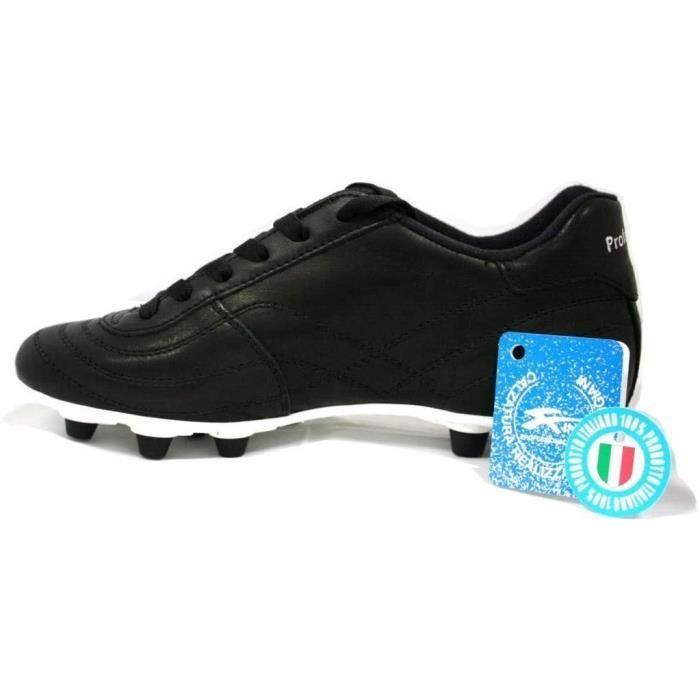 King Chaussures de Football Enfant Veau Fg Noir 33