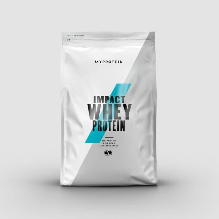 MYPROTEIN Impact Whey Protein Choco banane 1 kg complément alimentaire