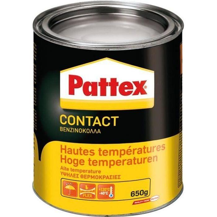 Pattex colle contact spéciale haute température 650g