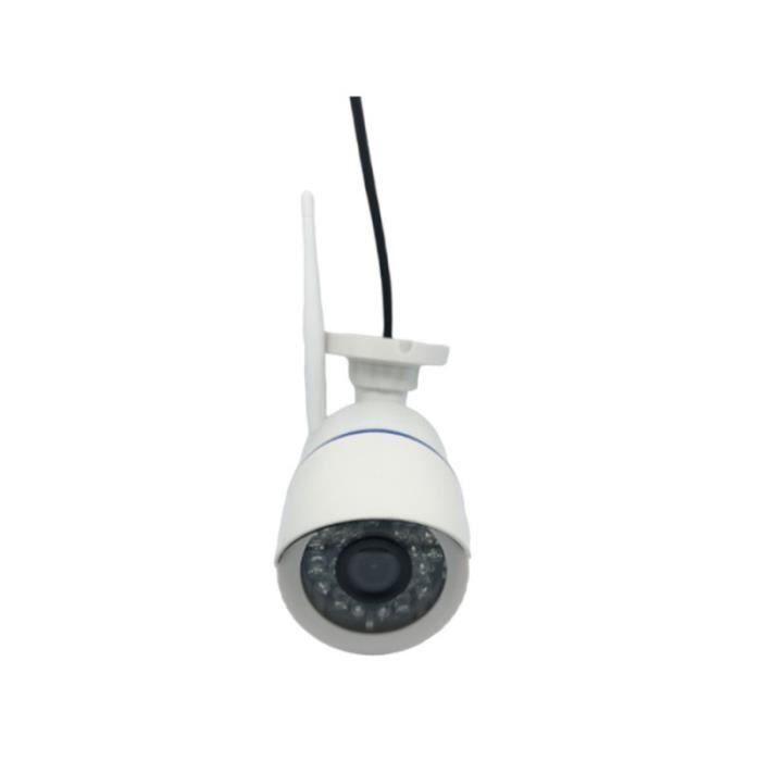 Caméra de surveillance sans fil CCTV haute définition Moniteur de vision nocturne de chambre de ENREGISTREUR VIDEOSURVEILLANCE