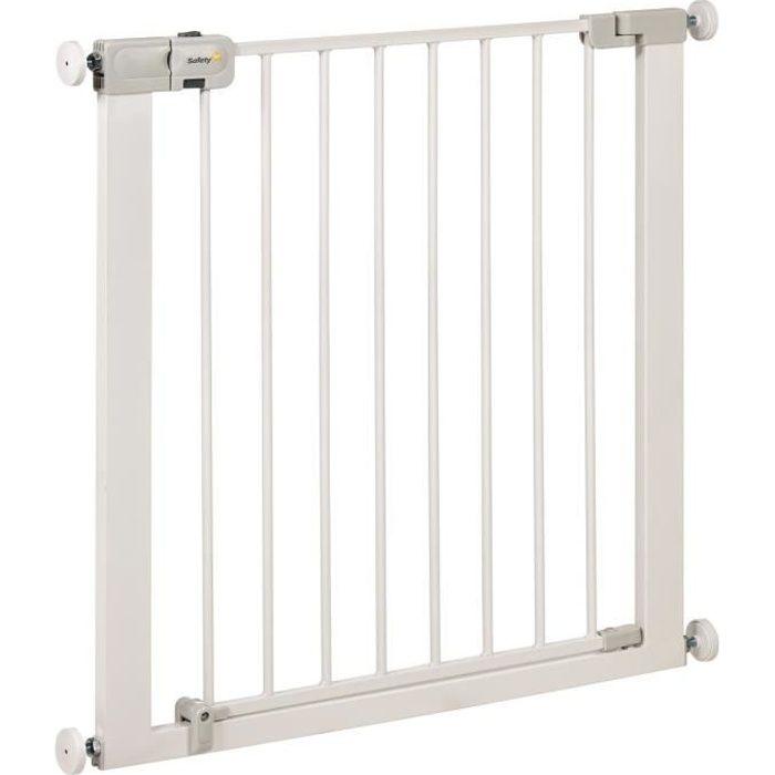 SAFETY 1ST Barrière Simply Close métal white