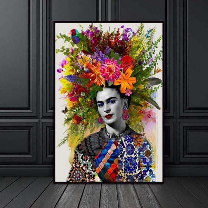 Version 40x50cm X1piece No Frame Frida Kahlo Femme Toile Peinture Affiches Et Gravures Nordique Decoration Achat Vente Tableau Toile Soldes Sur Cdiscount Des Le 20 Janvier Cdiscount