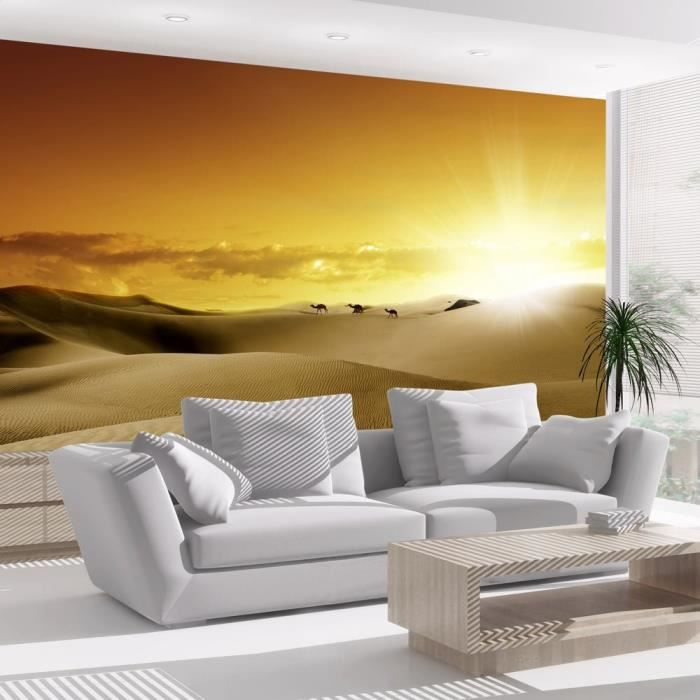 affiche g ante poster xxl desert 250x175 cm 5 l s achat vente papier peint cdiscount. Black Bedroom Furniture Sets. Home Design Ideas
