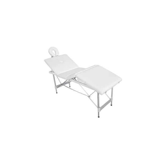 Table de massage aluminium pliable 4 zones achat vente table de massage t - Table massage pliable ...