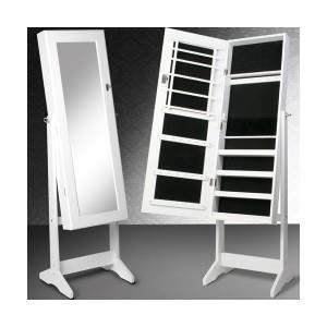 armoire bijoux avec miroir achat vente armoire a. Black Bedroom Furniture Sets. Home Design Ideas